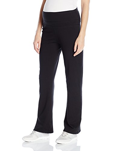 Lamaze Maternity Women's Active Yoga Pant, Black, Small