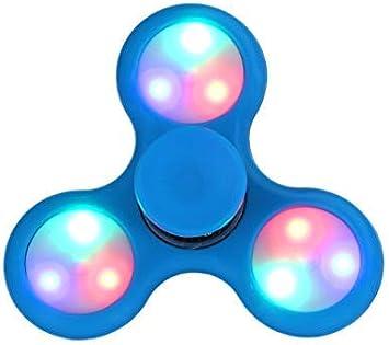 TOYLAND Spinnerooz Light Up Hand Spinner Juguete de Novedad - Fidget Spinner - 5 en 1 - Salta, rebota, Gira (Azul): Amazon.es: Juguetes y juegos