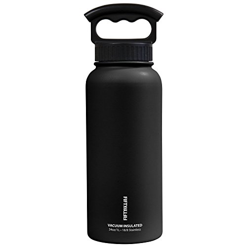 fifty-fifty-v34001bk-0-34oz-black-vacuum-insulated-bottle-1-pack