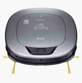 LG Kitchen vr65710lvmp.amsqeeu Robot aspiradora Motor Smart Inverter, 6 W, 0.6 L, Plateado Metal: Amazon.es: Hogar
