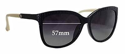SFX Replacement Sunglass Lenses fits Calvin Klein 3152S 57mm Wide
