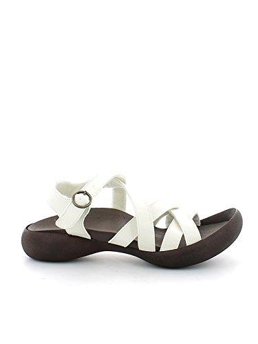 Regetta Canoe Sandalias de Vestir de Material Sintético Para Mujer Blanco Bianco