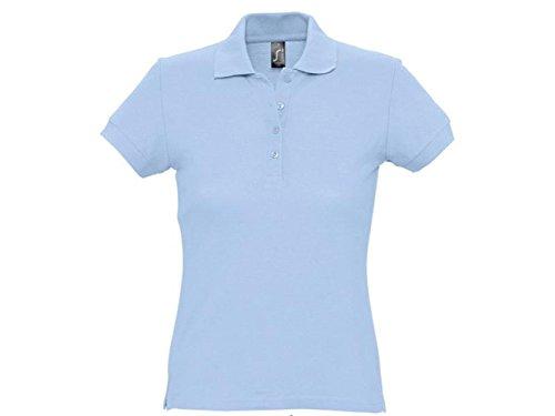 ATELIER DEL RICAMO - Camisa deportiva - para mujer azul celeste