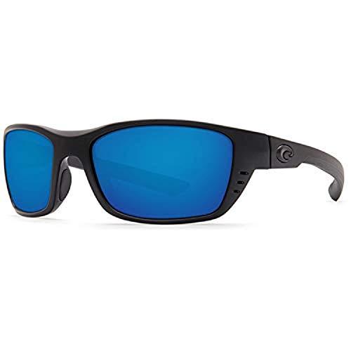Costa Del Mar Costa Del Mar WTP01OBMP200 Whitetip Blue Mirror 580P C-Mate 2.00 Blackout Frame Whitetip, Blackout Frame, Blue Mirror 580P C-Mate 2.00, Medium