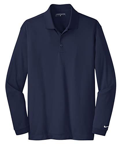 Nike Golf Mens Jersey Golf Polo Shirt Navy L ()