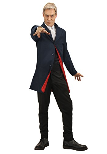 Plus Size Twelfth Doctor Mens Jacket - 2X -