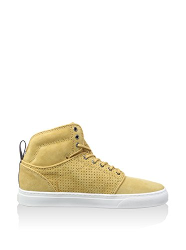Vans Alomar Men Round Toe Canvas Tan Sneakers (Luxe Reverse) F52Z4Mkj6a