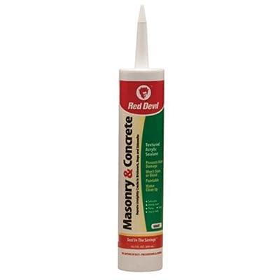 Red Devil 0646 10.1 oz. Masonry and Concrete Acrylic Sealant, Gray