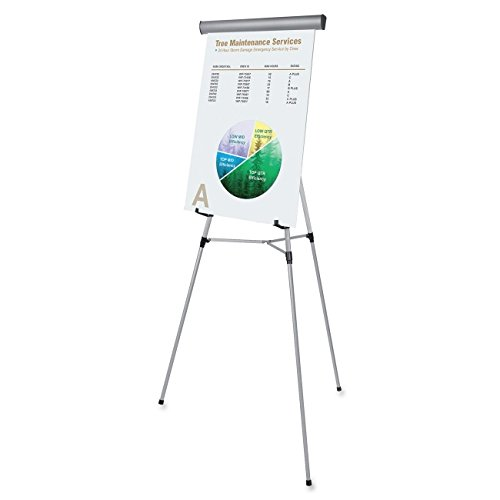 MasterVision 3-Leg Heavy-Duty Telescoping Display Easel, Adjustable Height from 37.5