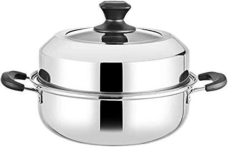 XIN Cocina Olla Vapor Vaporera Nivel 2 Vapor Conjunto de la ...