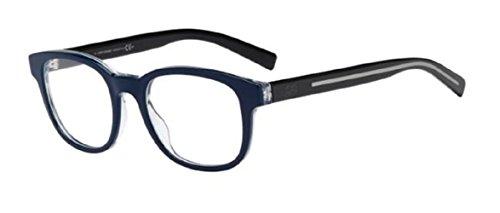 Dior Homme Montures de lunettes BLACKTIE202 Pour Homme Tortoise / Black G6I: Blue / Black