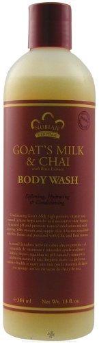 - Goat's Milk & Chai Lotion & Body Wash Set.. by Nubian 13oz each (2 Bottles) ... iwgl