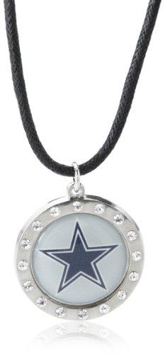 NFL Dallas Cowboys Crystal Circle Necklace ()