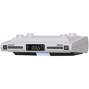 Amazon Com Memorex 174 Under Cabinet Mount Am Fm Clock
