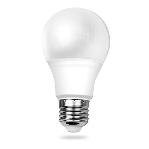 7W 12 Volt LED Light Bulb E26 60 Watts Equivalen Low Voltage Lights AC/DC 9-18V 12 Volt Battery Power Off Grid Solar Panel RV Marine Boat Landscape Lighting (12 Volt Dc Screw In Light Bulbs)