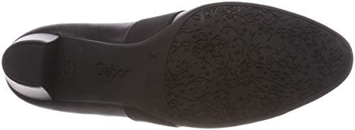 57 fu Fashion Gabor Nero Tacco Rot Donna Comfort Scarpe Con schwarz 8q8xavU
