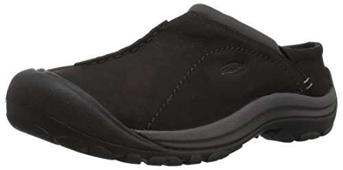 KEEN Women's Kaci Slide-w Sandal, Black/Magnet, 8.5 M US