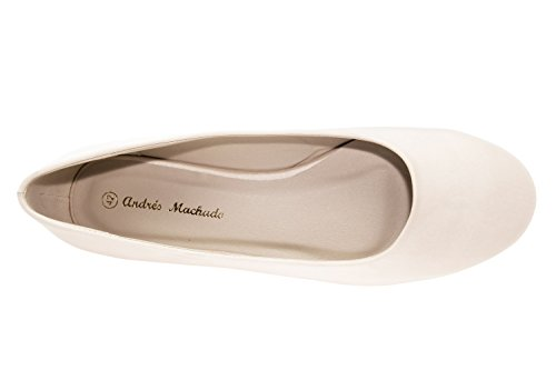 46 de Pointures 42 bridal Satenperla Mariées Ballerines Andres AM539BRIDAL du Classiques au Femmes Grandes Machado pour 4axnTqOFIw