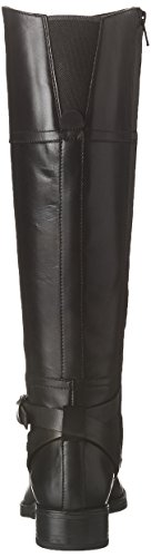 NP MELDI Boots C ABX Women's Calf Black Geox Mid D 1a8t8q