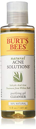 Burts Bee natural Acne solutions, purifying Gel Cleanser, Size 5 fl oz (12 pack)