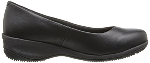 Skechers Da Lavoro Donna Mina Slip-on Slip-on Flat Black