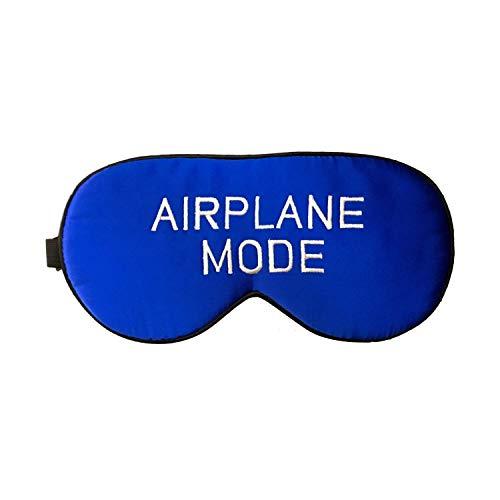- Men's Natural Silk Sleep Mask Airplane Mode