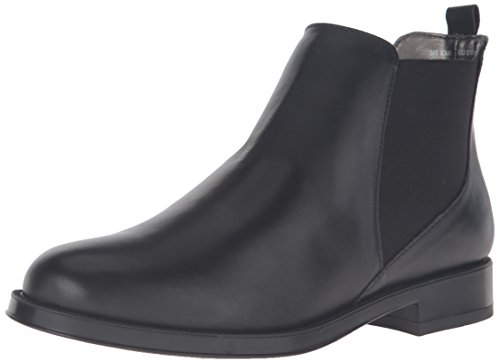Aerosoles Kvinnor Push N Dra Boot Svart Läder