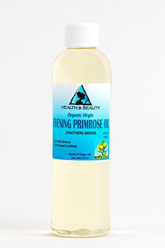 Evening Primrose Oil Organic Carrier Virgin Cold Pressed Pure 4 - To Usps Australia Us