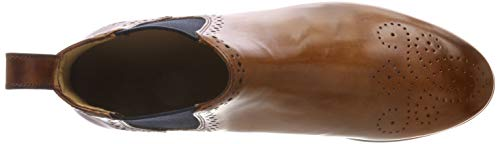 Melvin Navy amp; Hamilton Wood Ela 38 Sally EU Boots Hrs Crust Chelsea Brw Marron 16 Gris Femme Rwwq6dr5x