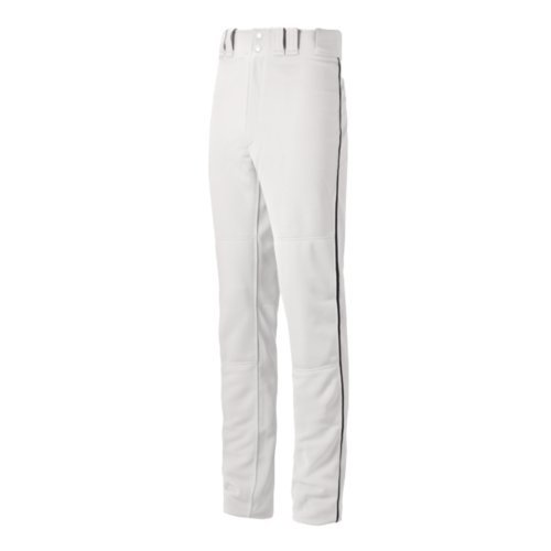 Classic Look Classic Belt (Mizuno Youth Select Pro Piped G2 Pants, White/Black,)