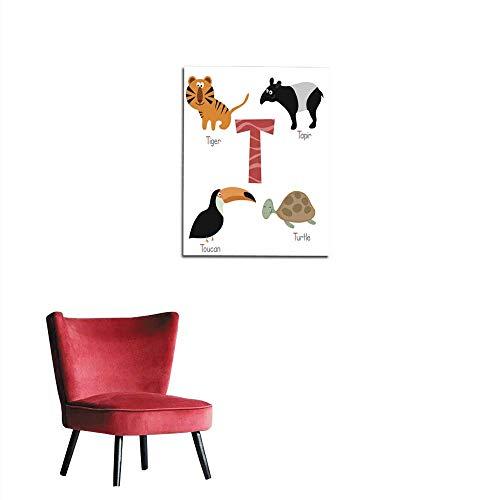 italian alphabet poster - 9