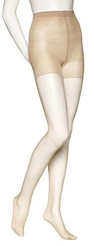 No Nonsense Women's Shapes Active Sheer Tight with Graduated Compression, Beige Mist C ()