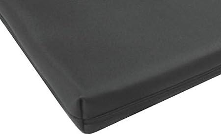 Amazon De Bezug Aus Kunstleder Fur Matratzen 140 X 200 X 16 Cm Schwarz