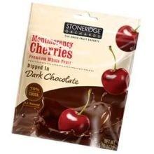 Stoneridge Orchards, Montmorency Cherries, Dipped in Dark Chocolate, 5 oz (Pack of 6)