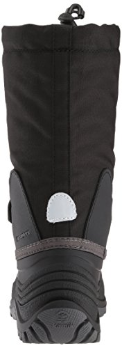 Pictures of Kamik Girls' Waterbug5 Snow Boot Black/Charcoal NK4771S 8