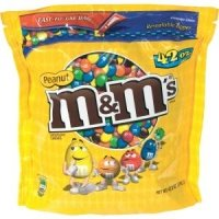 Advantus M&M Peanut Candy w/Zipper -