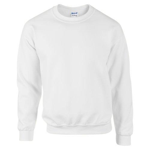 Gildan DryBlend Adult Set-In Crew Neck Sweatshirt (13 Colours) (M) (Ash)