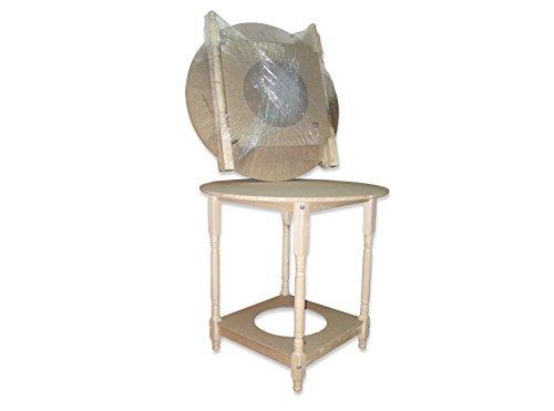 Mesa camilla redonda (90 centímetros, 75 centímetros)