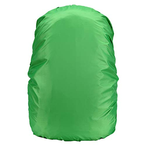 Tigivemen Solid Color Waterproof School Package Cover ,Rain Dust Cover For Camping Hiking Outdoor, ON SALE! (Nike School Rolling Backpacks)