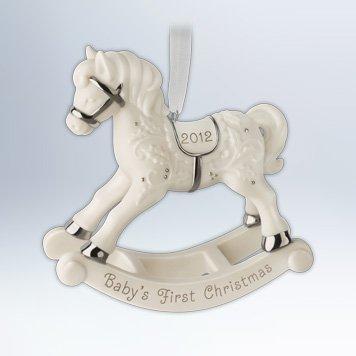 Baby's First Christmas 2012 Hallmark ()