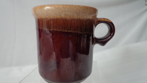McCoy Brown Drip Coffee Cup Round Handle McCoy Brown Drip -