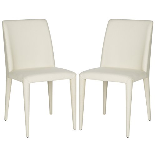 Safavieh Home Collection Garretson Beige Linen 34.4-inch Side Chair (Set of 2)