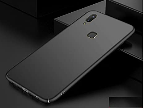 buy popular 175f1 dbbb4 Kaira Ultra-Slim Non-Slip Anti-Scratch Resistant 360 Degree Protection  Lightweight Rubberised Case Back Cover for Vivo Y83 Pro (Pitch Black)