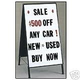 Sidewalk A-Frame Message Board Sign