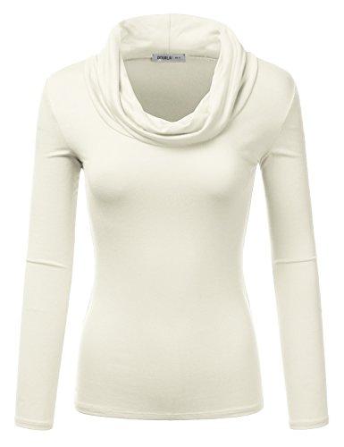 cowl neck knit - 2
