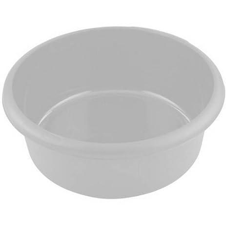 Amazon.com: Whitefurze Plastic Round Washing Up Kitchen Sink Bowl ...