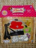 Lil Luvables Fluffy Bear Factory Dress-up Dreams Pop Star by Lil Luvables Fluffy Factory Pop Star Dress-Up Dreams Bear -