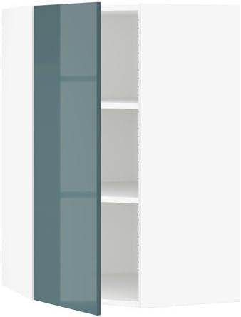 IKEA – Armario con estantes de esquina, color blanco, kallarp ...