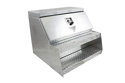 Mytee Products Trailer Truck Toolbox Tool Box Aluminum Step Box 30
