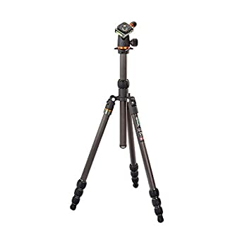 Image of 3 Legged Thing Punks Anarchy Billy Carbon Fibre 4-Section Travel Tripod with AirHed Neo Ballhead